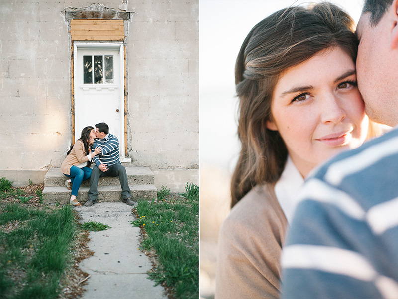 unique utah engagement photography