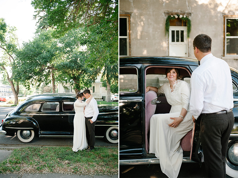 vintage wedding cars utah