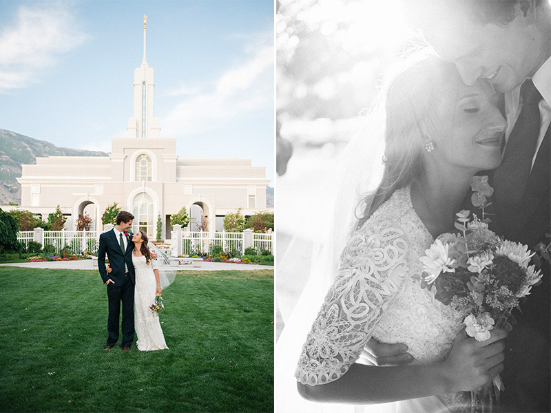 mt timpanogos lds temple wedding pictures