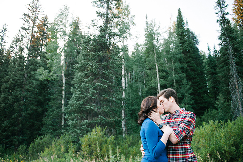 engagement photos millcreek canyon