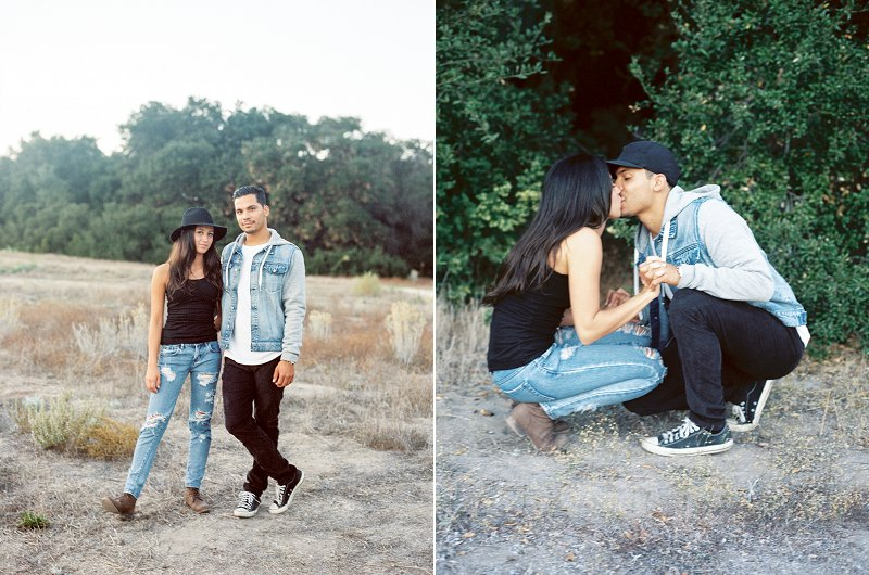 socal film engagement photography